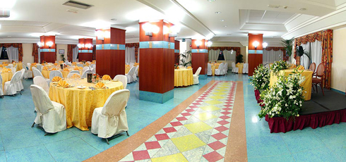 Restaurant Ceremonies Sicily: Caesar Palace Hotel - Naxos Room<